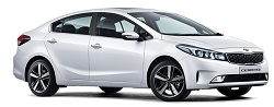 Kia Cerato rental car available for hire at Premier Car Rentals, Hope Island, Runaway Bay, Coomera, Gold Coast