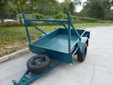 Box trailer 6 x 4 rental available for hire at Premier Car Rentals, Hope Island, Runaway Bay, Coomera, Gold Coast
