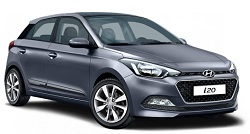 hyundai i20 hatch 5 door rental carfor hire at Premier Car Rentals, Hope Island, Runaway Bay, Coomera, Gold Coast