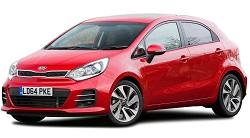 Kia Rio rental car available for hire at Premier Car Rentals, Hope Island, Runaway Bay, Coomera, Gold Coast