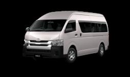 hiace van rental available for hire at Premier Car Rentals, Hope Island, Runaway Bay, Coomera, Gold Coast